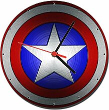 Captain America Wanduhren Wall Clock 20cm