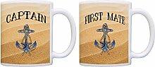 Captain First Mate Paare Nautisches Décor