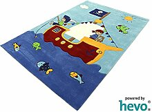 Captain Jack HEVO® Handtuft Teppich  