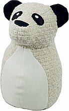Capventure Rocky Panda Türstopper/Buchstütze, Stoff, Mehrfarbig, 24x 13x 15cm