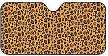 Car leopard sunshade Leopard Sommersonne