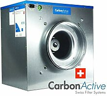 Carbon Active EC Silent Box 5000m³/h 400mm 1400 Pa