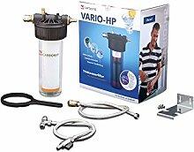 Carbonit Wasserfilter VARIO Comfort | Untertischgerät inkl. Wasserhahn | Filter-System mit Aktivkohlefilter | Trinkwasser für den Haushal