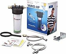 Carbonit Wasserfilter VARIO-HP Küche | Untertischgerät mit TÜV-geprüftem Aktivkohlefilter NFP Premium | Anschlussfertiges Trinkwasser-Filtersystem | Qualität ― Made in Germany
