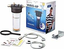 Carbonit Wasserfilter VARIO-HP Universal | Untertischgerät mit TÜV-geprüftem Aktivkohlefilter IFP Puro | Anschlussfertiges Trinkwasser-Filtersystem für die Küche | Qualität - Made in Germany