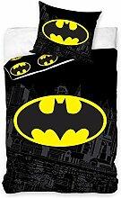 Carbotex BAT8004 Batman Bettwäsche-Set für