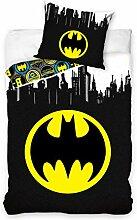 Carbotex Batman Kinderbettwäsche Babybettwäsche