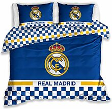 Carbotex Real Madrid Bettwäsche Doppelbett