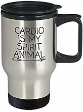Cardio Thermobecher Cardio is My Spirit Tier,