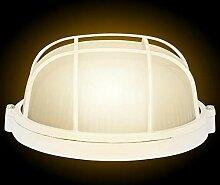 Caredy Feuchtigkeitsbeständige runde Lampe