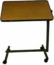 CareLiv Bett Tisch Metall Betttisch Laptoptisch