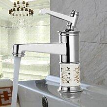 Caribou@Einzelne Bohrung Alle Kupfer Waschbecken wasserhahn Wasserhahn warmes und kaltes Wasser?B Waschtischarmatur Wasserhahn Spültisch Küche Waschtisch Waschenbecken Bad