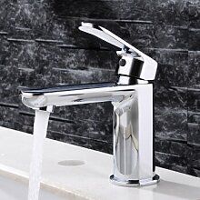 Caribou@Warmes und kaltes Wasser Waschbecken Wasserhahn Waschtischarmatur Wasserhahn Spültisch Küche Waschtisch Waschenbecken Bad