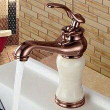 Caribou@Waschbecken wasserhahn Wasserhahn warmes und kaltes Wasser?C Waschtischarmatur Wasserhahn Spültisch Küche Waschtisch Waschenbecken Bad