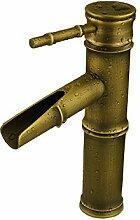 Caribou@Waschtischarmatur Wasserhahn Spültisch Küche Waschtisch Waschenbecken Bad Europäischen antike Jahrgang Slub Toilette Wasserhahn/Waschbecken Wasserhahn