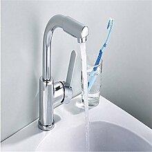 Caribou@Waschtischarmatur Wasserhahn Spültisch Küche Waschtisch Waschenbecken Bad Drehen 360 Grad kaltes wasserbadezimmer Waschbecken Wasserhahn