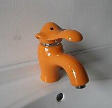 Caribou@Waschtischarmatur Wasserhahn Spültisch Küche Waschtisch Waschenbecken Bad Orange ceramicbathroom Waschbecken Wasserhahn