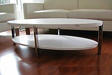 Carl Svensson Design COUCHTISCH O-111 weiß Weiss