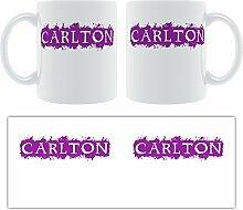 Carlton-Grunge, Design-Becher aus Keramik,