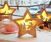 Carman Weihnachtsdeko Licht für Weihnachtsbaum
