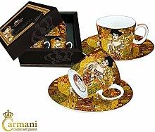 CARMANI - Espressotasse mit Untertasse Set