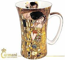 CARMANI - Groß Porzellan-Becher mit 'Der