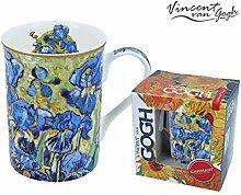 CARMANI - Klassische Tasse, verziert mit Vincent