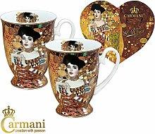 CARMANI - Porzellan-Becher mit 'Adele' von