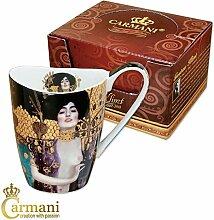 CARMANI - Porzellan-Becher mit 'Judith und