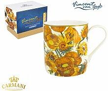 CARMANI - PorzellanBecher für Tee, Kaffee in