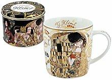 CARMANI - Porzellanbecher für Tee oder Kaffee in