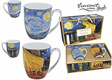 Carmani – Vincent Van Gogh, Tasse aus Porzellan,
