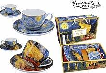 CARMANI - Vincent Van Gogh, Tasse und Untertasse