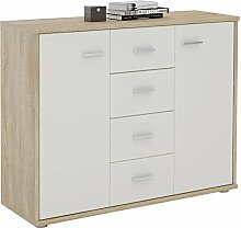 CARO-Möbel Sideboard Jamie Kommode Büromöbel