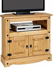 CARO-Möbel TV Rack Salsa Regal TV Schrank Kiefer