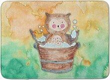 Caroline 's Treasures Eule Baden Watercolor