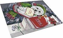Caroline's Treasures Westie Weihnachtsbrief an