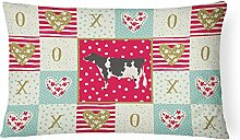 Carolines Treasures CK5249PW1216 Holstein Kuh Love
