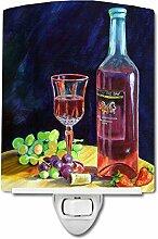 Carolines Treasures Nachtlicht für Rotweinflasche