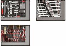 CAROLUS 2250.3802 Werkzeugsatz 132-tlg in