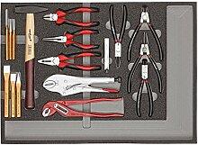 CAROLUS 2250.902 Werkzeugsatz Zangen, Hämmer, Meißel, 1 Stück