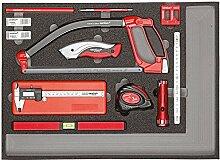 CAROLUS 2250.905 Werkzeugsatz Messen und Schneiden, 1 Stück