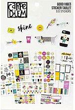 Carpe Diem by Simple Stories A5 Stickertafel –
