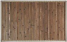 Carpemodo Badvorleger Badteppich Bambusteppich,