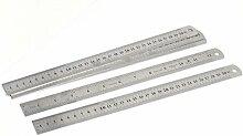 Carpenter Edelstahl gerade Lineal Messwerkzeug 30cm