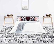 carpet city Bettumrandung Flachflor 3-teiliges