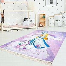 carpet city Kinder-Teppich Druckteppich Flachflor