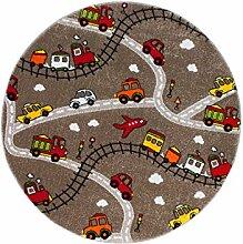 carpet city Kinderteppich Spielteppich Flachflor