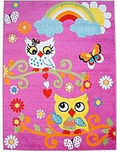 carpet city Kinderteppich, Teppich Flachflor für