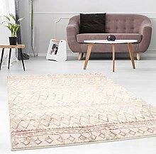 carpet city Teppich Flachflor mit Geometrischen